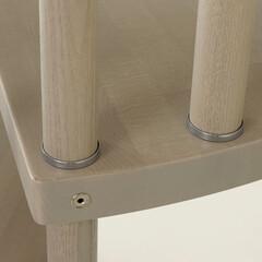螺旋階段/階段 硬く上質なアッシュ材、美しい木目をいかし…