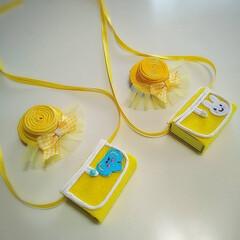 リングドッグ/犬用アクセサリー/幼稚園グッツ/結婚式/ウェディンググッツ/minne/... 遊び心で製作しました。 中々自作品が製作…