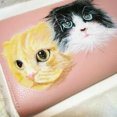 犬似顔絵/猫似顔絵/こっこのお店/Instagram/ラクマ/minne/... 久しぶりの猫似顔絵オーダー描いてました‼…