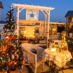 ストリングライト/ガーデニング/キャンドルライト/ルーフバルコニー/テラス/ライトアップ/... ☆。.:*・゜  もうすぐ、クリスマス•…