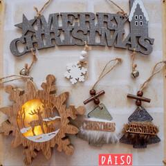 新商品/クリスマス雑貨/クリスマス飾り/クリスマス/ダイソー/セリア/... 昨日のキャンドゥ購入品に続き ダイソーと…