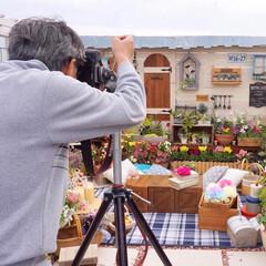 ガーデン雑貨/ベランダガーデニング/撮影/雑誌取材/私のカントリー/手作りガーデン おはようございます🎶 実は、先日我が家の…
