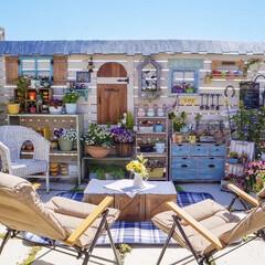 花のある暮らし/ガーデンリビング/ナチュラルガーデン/ベランダガーデニング/DIY おはようございます🎶  せっかくの三…