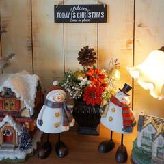 クリスマスディスプレイ/ダイソー/セリア/百均の材料で/オブジェ/クリスマスの飾り/... おはようございます😊 .*・゚ .゚・*…