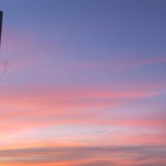 夕陽/空/秋 昨日の夕方、友人宅から出たらこんな素敵な…