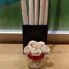 ひのき/桧/ヒノキ/かんなくず/カンナくず/フラワー/... ひのきを削ったかんなくずでお花を作ってみ…
