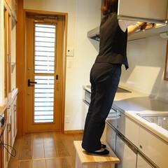 DIY/踏み台/収納 踏み台にも使える収納ボックスです。