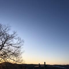 風景 今朝はマイナス18度と凍れました😵 でも…