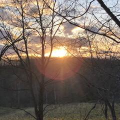 風景 今日もきれいな夕焼け空でした😊