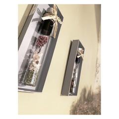 壁面飾り/空き箱/空き瓶/ドライフラワー/エコ/インテリア/... 頂き物のスパイスの瓶と、 財布を購入した…(2枚目)