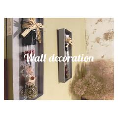 壁面飾り/空き箱/空き瓶/ドライフラワー/エコ/インテリア/... 頂き物のスパイスの瓶と、 財布を購入した…