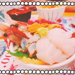 小樽/雲丹丼/選べる4色丼/鮪/烏賊刺身/三角市場/... 年に一度の雲丹休暇✨⛵☀️✨ (勝手に決…