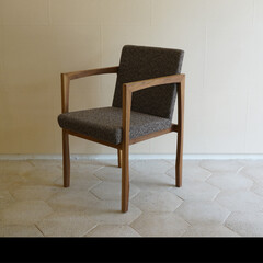 椅子/チェアー/家具/肘付き/リビング/イス/... 肘付チェアー KW337 a1_chai…