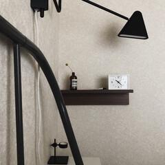 hmhome/aesop/IKEA/海外インテリア/北欧インテリア/北欧/... 模様替えする前のベッドサイド。 部屋が狭…