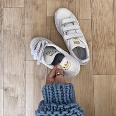 スタンスミス/adidas/プチプラ/プチプラファッション/ファッション/暮らし adidasのスタンスミス 着脱が楽なス…