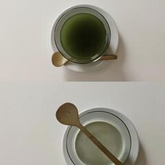DL29583 ソリア ボデガグラス クリア GC18130 180ml | SOLIA(その他調理用具)を使ったクチコミ「健康を考えて青汁をはじめました🥬 水割り…」