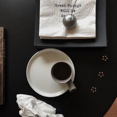 hmhome/serax/IKEA/ミニマリスト目指します/ミニマリスト/ミニマル/... ちょっとゆっくりできる朝は大好きなキッチ…