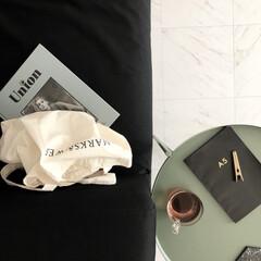 IKEA/ミニマルインテリア/ミニマルライフ/ミニマルな暮らし/minimaru design/ミニマル/... A5と書いてあるノートはお友達からのプレ…