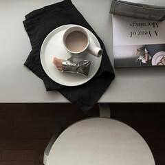 日常のひとこま/IKEA/ミニマルインテリア/ミニマルな暮らし/ミニマル/シンプルな暮らし/... いつかの朝ごはん。 シャトレーゼのリエム…