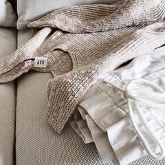 tohma ペルーネ ソファーベッド BL/54045270(フロア、ビッグクッション)を使ったクチコミ「久々にGAPで洋服を購入しました。 初め…」