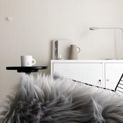 conelcoffee/IKEA/hmhome/シンプルインテリア/モノトーンインテリア/ミニマリスト目指します/... リビングのお気に入りスペース☺︎ ここで…