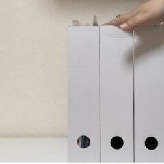 壁紙をキズ・汚れから保護するシート 46×180cm S-317(ウォールステッカー)を使ったクチコミ「一見、シンプルに見える ざっくり収納で収…」