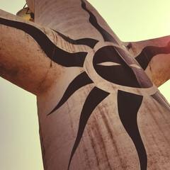 エキスポシティ/太陽の塔/万博記念公園/地元のオススメ 太陽の塔! 小さい頃からずっと見てる。 …