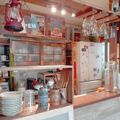 キッチン収納/キッチン/収納アイディア/収納ケース/ブレッドケース/カトラリー収納/... おはようございます😊  キッチンカウンタ…(3枚目)