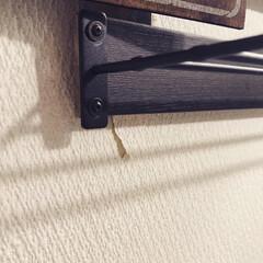 2×4/端材DIY/端材/タオルハンガー/タオル掛け/令和元年フォト投稿キャンペーン/... 洗面所横のタオル掛けをリニューアル✨  …(4枚目)