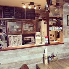 おうちカフェ/カフェ風キッチン/カフェ風インテリア/家電/炊飯器/こどものいる暮らし/... 息子の希望で、ドリンクサーバーを買いまし…
