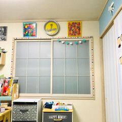 ネオンクロック/和室を洋室に/子供部屋/アメリカンポップ/アメカジ/アメリカン/... 私がハタチくらいのときに買った ネオンク…