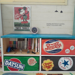 和室を洋室に/アメリカンポップ/カラフルな部屋/カラフルインテリア/アメリカン/おもちゃ収納/... 子供たちにリクエストされていたキッズベン…