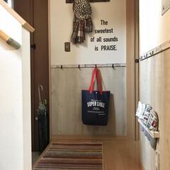 モニター/マット/イケヒコ/玄関/壁掛けフック/スリッパラック/... 玄関は、腰壁、スリッパラック、壁掛けフッ…