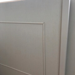 和室を洋室に/和室/ベニヤ板/プラダン/モールディング/障子リメイク/... 子供たちにビリビリにされていた 和室の障…(3枚目)