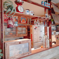 キッチン収納/キッチン/収納アイディア/収納ケース/ブレッドケース/カトラリー収納/... おはようございます😊  キッチンカウンタ…