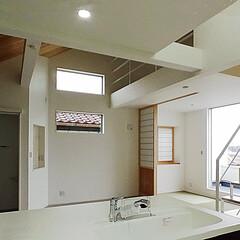 ローコスト住宅/横浜/神奈川/天然木羽目板/スチール階段/デザイン住宅 横浜のローコスト住宅です 和室コーナーの…
