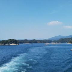 長崎/夏休み/旅行 今日長崎の九十九島へ行って来ました🤩実際…