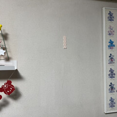 テサ パワーストリップ 高さ調節キャンバスフック | テサ  (ウォールフック)を使ったクチコミ「キャンペーン初当選しました🎉  テサパワ…」(6枚目)