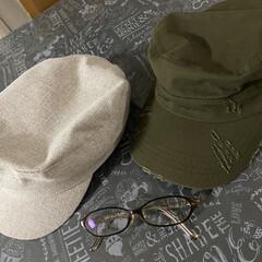 帽子/美酢/おうちごはん/ファッション/簡単/おしゃれ/... 今年買った帽子🧢 並べてみたら同じ形😅 …