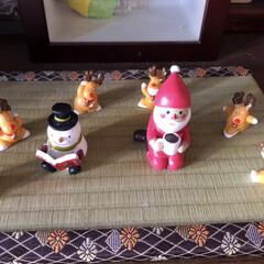 玄関雑貨/トナカイさん/雪だるま/サンタさん/クリスマス雑貨/ここが好き 来月は忙しくなるぞぉ〜〜🦌⛄️🎅