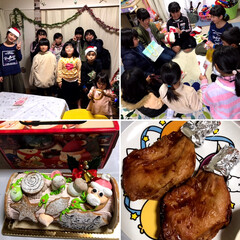クリスマス/フード/DIY/ハンドメイド/100均/ダイソー/... 1枚目☆ 先日のクリスマス会🎄 楽しかっ…