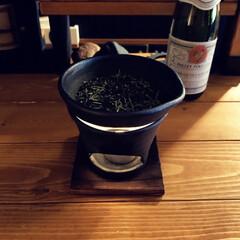 茶香炉/おすすめアイテム 茶香炉で新茶燻してます。 部屋にお茶のい…