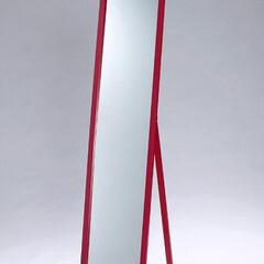 アイアンブラック/塗り直し/姿見ミラー 10年前から使ってた真っ赤な姿見を 今の…