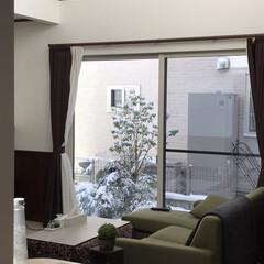 2018/フォロー大歓迎/冬/おうち/年末年始/大掃除/... おはようございます  晴天の雪景色です☀…