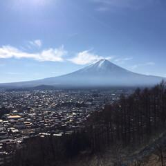 富士山/富士山麓/カフェ/山梨県 2016年1月2日 富士山! いま、1番…