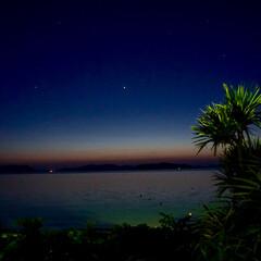 トワイライト/海/沖縄/おでかけ 渡嘉敷島にてpart3