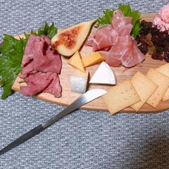 クチポール ミオ ブラック デザートナイフ Cutipol MIO | クチポール(テーブルナイフ)を使ったクチコミ「おうち時間は、「工房ぐるり」さんのカッテ…」