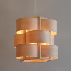 木流1灯ペンダント/北欧照明/和風照明/デザイン照明/自然素材/和のあかり/... 木流3灯ペンダントのバリエーション展開に…