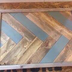 DIY/木工雑貨/キャンプ/トレイ/ミニテーブル キャンプにも使える 折りたたみミニテーブ…(2枚目)