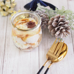 sweets/型抜き/アレンジ/ブルボン/スライス生チョコレート/食パン/... モノトーンの世界 meets sweet…(1枚目)